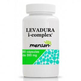 Levadura icomplex 80 cápsulas de 595mg