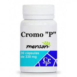 "Cromo ""P"" (Cr Picolinato) 30 cápsulas 330mg"