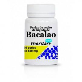 Hígado de Bacalao 60 Perlas de 650 mg Simply