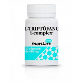 L - Triptofano i-complex 30 cápsulas de 480 mg Simply