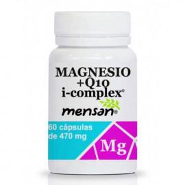 Magnesio + Q10 i-complex 60 cápsulas 470mg