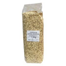 Copos de avena gruesos bio 1,5 Kg