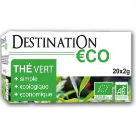 Té Verde Bio €CO 20 Filtros