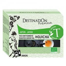 Té Verde Hojicha Japon 20 Filtros 40g