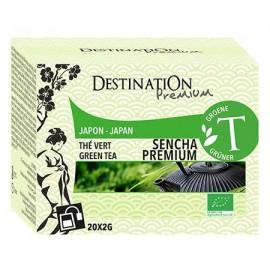 Té Verde Sencha Premium Japon 20 Filtros 40g