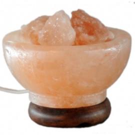 Lámpara de Sal del Himalaya Cuenco