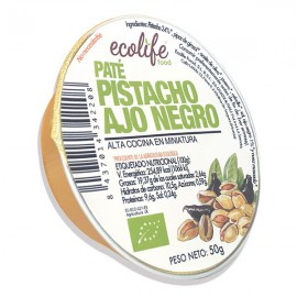 Paté de Pistacho y Ajo Negro 50g