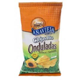 Patatas Fritas Eco en Aceite de Girasol Onduladas 125g