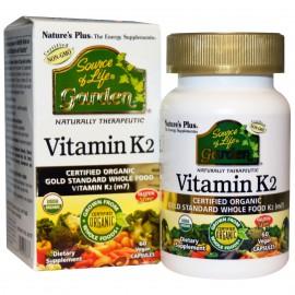 Vitamina K2 Garden 60 comprimidos