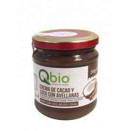 Crema de Cacao y Coco con Avellanas Bio 200g