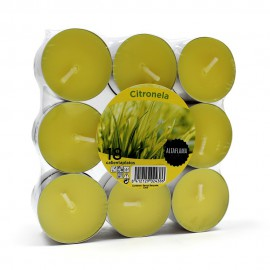 Pack 18 Velas Nightlights Citronela