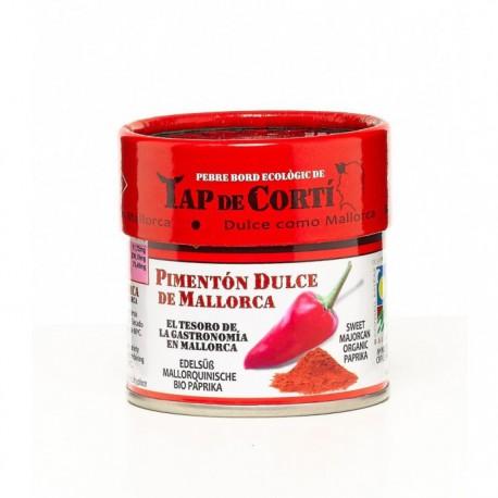 Pimenton Dulce Tap de Corti Bio Salero 30g