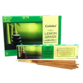 Incienso Goloka Aromaterapia Lemon Grass 15g