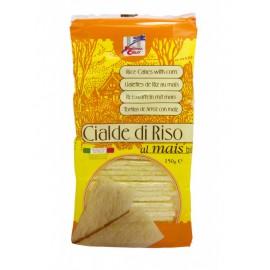 Tostas de Arroz y Maiz Bio 150g