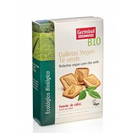 Galletas Vegan con Té Verde Bio 250g