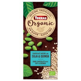 Chocolate Orgánico con Quinoa y Soja Sin Gluten Bio 100g