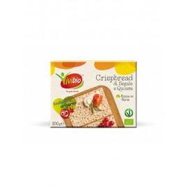 Pan Crujiente Integral de Centeno y Quinoa Bio Vivibio 200g
