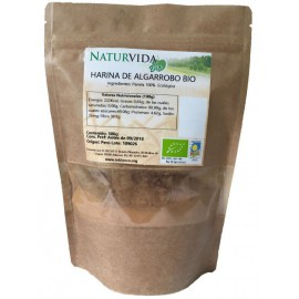 Harina de Algarroba Bio NaturVida 350g