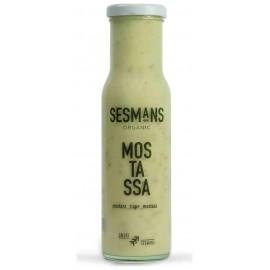 Salsa de Mostaza Bio Sesmans 240g