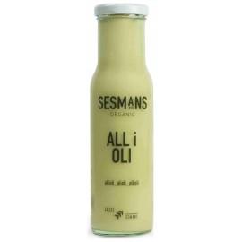 Salsa de Ali Oli Bio Sesmans 240g