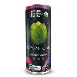 Refresco Enérgenico Organique Açai, Mate y Guaraná Bio 269 ml