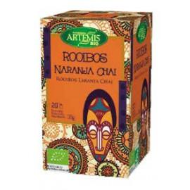 Rooibos Naranja Chai Bio Artemis 20 filtros 30g