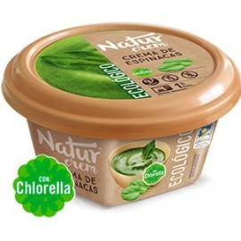Crema de Espinacas con Chlorella Sin Gluten Bio 315g Natur Crem