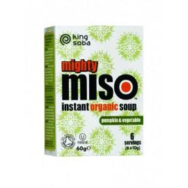 Sopa de Miso con Calabaza y Verduras Bio 60g