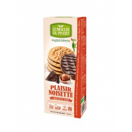 Galletas Placer de Chocolate y Avellanas Bio 130g
