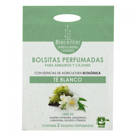 Ecobolsitas Armario Té Blanco 2x10g