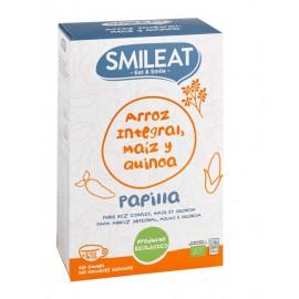 Papilla Arroz Integral Maiz y Quinoa Bio 230g