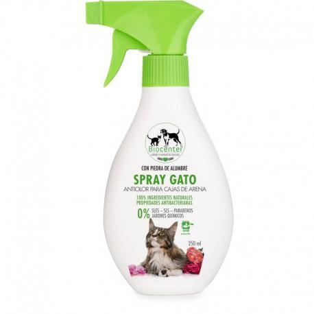 Spray Antiolor para Cajas de Arena Gato Bio 250ml