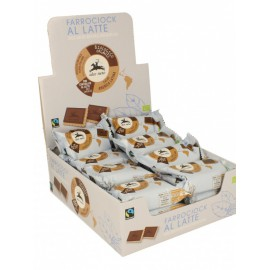 Farro Ciok Choco Leche Galleta Espelta Cubierta de Chocolate con Leche Bio 28g