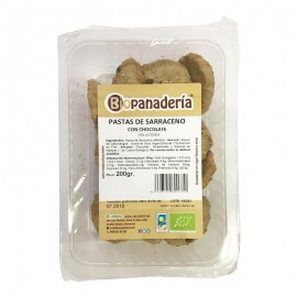 Galletas Pastas de Trigo Sarraceno con Chocolate Bio 200g