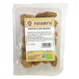 Galletas Pastas de Trigo con Muesli Bio 200g