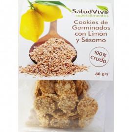 Cookies de Germinados con Limón y Sésamo 80gr