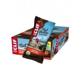 Barrita Energética de Chocolate Rellena de Crema de Cacahuete Bio 50g