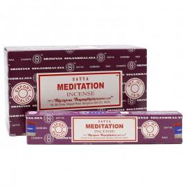 Incienso Meditación Satya 15g