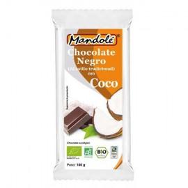 Chocolate Negro 60% con Coco Bio 100g