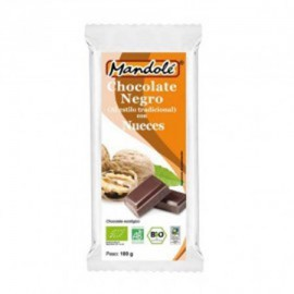 Chocolate Negro 60% con Nueces Bio 100g