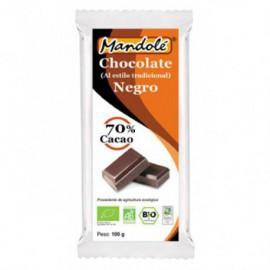 Chocolate Negro 70% Cacao Bio 100g