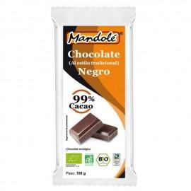 Chocolate Negro 99% Cacao Bio 100g