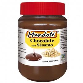 Crema de Chocolate con Sésamo Bio 375g