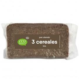 Pan Aleman Tres Cereales Bio 500g