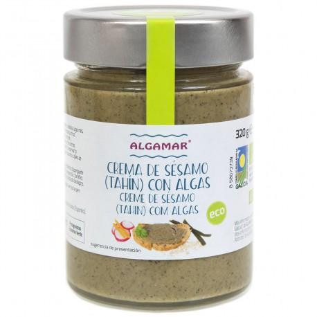 Crema de Sésamo (Tahín) con Algas Bio 320g