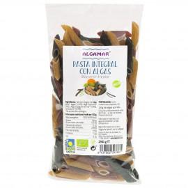 Macarrones Tricolor con Algas Bio 250g