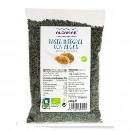 Pasta Integral Números y Letras con Algas Bio 250g
