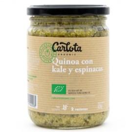 Quinoa con Kale y Espinacas Bio 425g