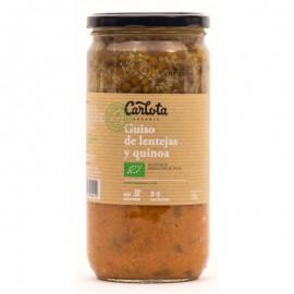 Guiso de Lentejas y Quinoa Bio 720g