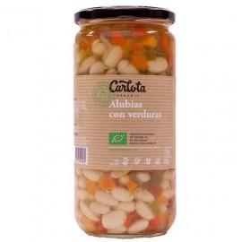 Alubias con Verduras Bio 720g